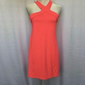 """Fabletics Hot Pink Halter """"Chicago"""" Dress M"""